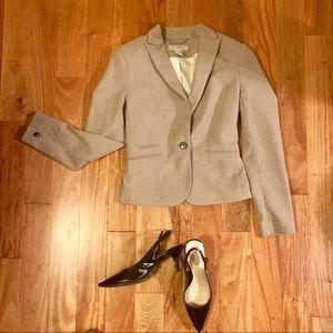 H&M Tan Blazer Jacket